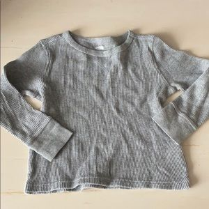 Old Navy Long Sleeve Waffle Shirt 3T